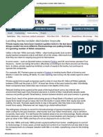 Lending Banks Reclaim Debt-laden Buyouts