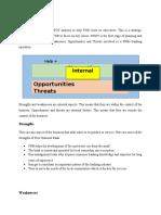 SWOT Analysis FNB