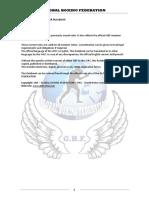 MMA Amateur Rulebook GBF