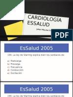 Cardiología Essalud preguntas
