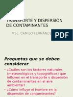 TRANSPORTE Y DISPERSIÓN DE CONTAMINANTES.pptx