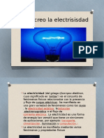Como Se Creo La Electricidad