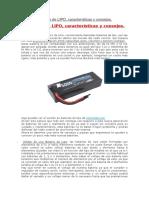 Baterías de LIPO