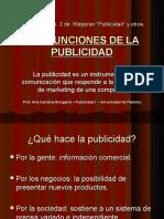 LA FUNCIÓN DE LA PUBLICIDAD