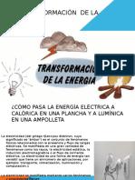 La Transformación de La Energìa