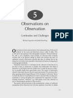 Observacion Angrosino Handbook Ch 5