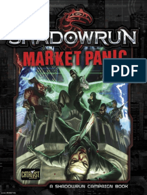 Shadowrun Market Panic (Campaign Book) (8490743) | Psychological