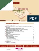 Caucasus Analytical Digest 82