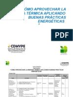 Presentacion ¨Como aprovechar la energia termica aplicando buenas practias¨.doc