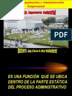 Organizaciòn 2015 I