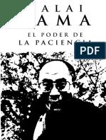 Dalai Lama - El poder de la Paciencia.pdf