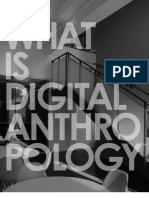 What Is Digital Anthropology?