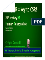 Why HR is Key to CSR