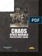 Chaos Space Marines Collectors Guide