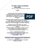 ALFEREZ PNP. CAVA CALDERON CRISTINA