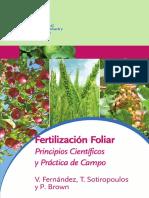 2015 Foliar Fertilizers Spanish
