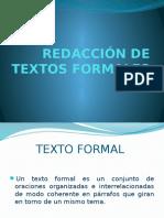 Redacción de Textos Formales
