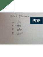 Matemáticas IV Cuestionario Diverso