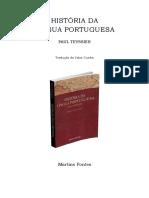 Teyssier, Paul. História Da Língua Portuguesa