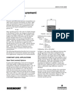 Density Measurement DP Pressure