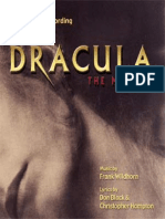 Dracula Vocal Score
