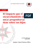 ESPAÑOL_The impact of parental imprisonment on children