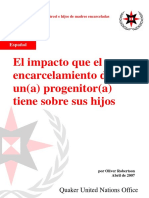 ESPAÑOL_The impact of parental imprisonment on children