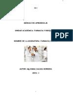 Modulo de Aprendizaje de Farmacia Clinica 2014-i