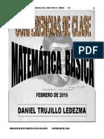 Conferencias Matemática Básica Contaduríauvalle 2016