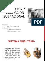 Regulacion y Tributacion