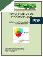 EJERCICIOS DE TEORIA DE CONJUNTOS