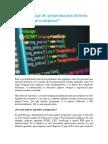 Qué Lenguaje de Programación Debería Aprender Para Empezar