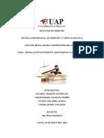 regulación en puertos aeropuertos y saneamiento