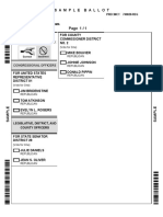 Washington County Oklahoma Sample Ballot - Republican Primary June 28 2016