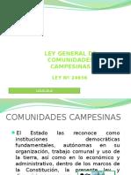 comunidades campesinas