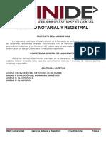 Apuntes Derecho Notarial y Registral i.