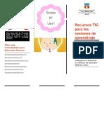 Trifoliado Tríptico Muñoz Circulo TIC