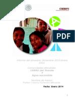 Formato Informe Bimestral Enero 2014