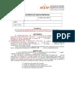 contrato de subcontratacion