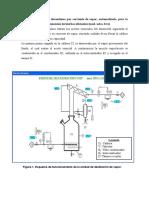 Unidad de Destilación Discontinua Por Corriente de Vapor