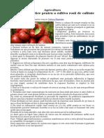 Agricultura -rosii