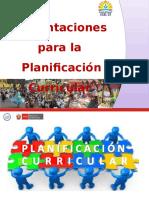 Planificacion Anual Lima Metropolitana