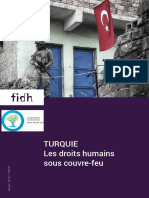 FIDH/EuroMed Droits - TURQUIE