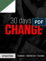30 Days of Change