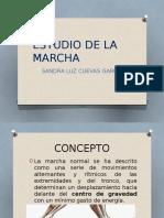 ESTUDIO DE LA  MARCHA.pptx sandra.pptx