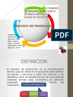 Presentacion - Proceso de Produccion