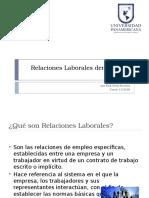 Relaciones Laborales Dentro de La Empresa