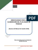 Orientaciones Para Elaborar El PAT Final Rca
