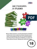 Program Standards_Business Studies