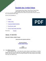 Kumpulan Makalah Dan Artikel Islam